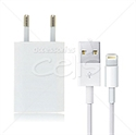 Picture of Europe Wall Plug USB to Lightning Cable Charger Travel Kit