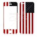 Picture of American Flag Skin for iPhone 5