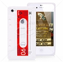 Picture of Audio Tape Style Silicone iPhone 4 & iPhone 4S Case