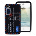 Picture of Airmail Envelope Style Silicone Case For iPhone 4 & iPhone 4S