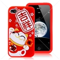 Picture of Cute Lucky Cat Case for iPhone 4 & iPhone 4S
