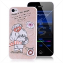 Picture of Cartoon Lovers Case for iPhone 4 & iPhone 4S