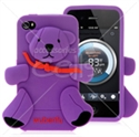 Picture of Bear Cartoon Silicon Back Cover For iPhone 4 & iPhone 4S