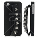 Picture of Hand Hold Back Cover With PU Leather For iPhone 4 & iPhone 4S