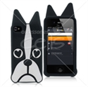 Picture of Dog Cartoon Silicon Back Cover For iPhone 4 & iPhone 4S