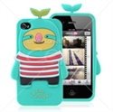 Picture of Cartoon Silicon Back Cover For iPhone 4 & iPhone 4S