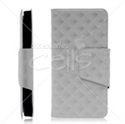 Picture of 3D Diamond Patterns Wallet Case for iPhone 5