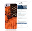 Picture of American Flag Hard Back Cover for iPhone 5
