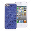 Picture of Animated Illustratons Metal Back Cover for iPhone 5
