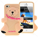 Picture of Bear Silicon Back Cover For iPhone 5