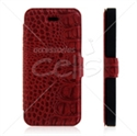 Picture of Crocodile Pattern Leather Wallet Case for iPhone 5