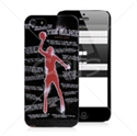 Picture of Basketball Player Back Cover for iPhone 5