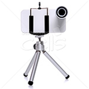 Picture of 12x Telephoto Lens With Mini Tripod For iPhone 4 & iPhone 4S