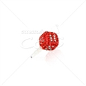 "Picture of 3.5"" Dice Rhinestone Ear Cap"