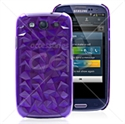 Picture of 3D Diamonds Hard Back Cover Case for Galaxy SIII