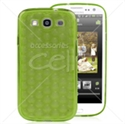 Picture of 3D Circles TPU Transparent Back Cover For Galaxy S3