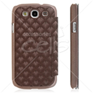 Picture of 3D Pattern Wallet Case for Galaxy S3