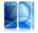 Picture of Apple iPhone 5 Decal Skin - Abstract Blue