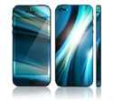 Picture of Apple iPhone 5 Decal Skin - Abstract Blue Spectrum