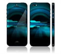 Picture of Apple iPhone 5 Decal Skin - Abstract Future Night Blue