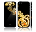 Picture of Apple iPhone 5 Decal Skin - Abstract Gold