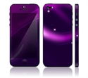 Picture of Apple iPhone 5 Decal Skin - Abstract Purple
