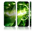 Picture of Apple iPhone 5 Decal Skin - Aero Tension