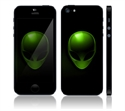 Picture of Apple iPhone 5 Decal Skin - Alien X-File