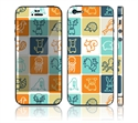 Picture of Apple iPhone 5 Decal Skin - Animal Squares