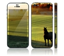 Picture of Apple iPhone 5 Decal Skin - Autumn Horse