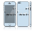 Picture of Apple iPhone 5 Decal Skin - Birds Tweeting