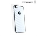 Picture of BodyGuardz Carbon Fibre Armor Skin for iPhone 5S / 5 - White