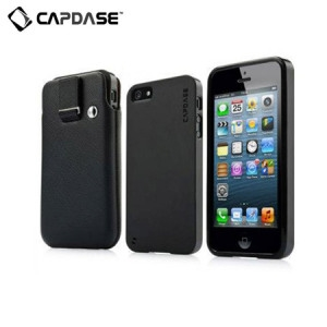 Picture of Capdase Xpose & Luxe Case Pack for iPhone 5S / 5 - Black