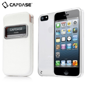 Picture of Capdase Xpose & Luxe Case Pack for iPhone 5S / 5 - White