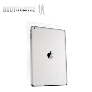 Picture of BodyGuardz Carbon Fibre Armor Skin for iPad Air - White