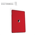 Picture of BodyGuardz Carbon Fibre Armor Skin for iPad Air - Red