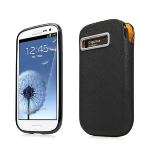 Picture of Capdase Xpose & Luxe Case Pack for Samsung Galaxy S3 - Black