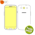 Picture of Martin Fields Screen Protector Twin Pack - Samsung Galaxy S3
