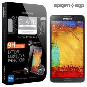 Picture of Spigen GLAS.tR SLIM Tempered Glass Screen Protector for Galaxy Note 3