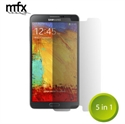 Picture of MFX 5-in-1 Screen Protector Pack for Samsung Galaxy Note 3