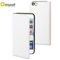 Picture of Muvit Slim Folio iPhone 6 Case - White