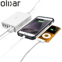Picture of Olixar 6 USB Smart IC Charger with EU AC Adapter - 10 Amps / 50W