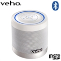 Picture of Veho 360 M4 Bluetooth Wireless Speaker - White