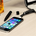 Picture of Connector+ 3-in-1 Charging Cable, Stylus and Pen - Black