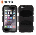 Picture of Griffin Survivor iPhone 6 Plus All-Terrain Case - Black
