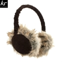 Picture of KitSound Audio Earmuff Headphones - Brown