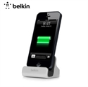 Picture of Belkin Lightning Charge and Sync Dock for iPhone 6 / 5 Series - Silver