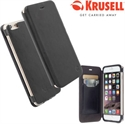 Picture of Krusell Kiruna iPhone 6 Plus Leather Flip Case - Black