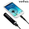 Picture of Veho Pebble Smartstick Portable Charger 2000mAh - Black