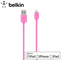 Picture of Belkin Sync Charge Lightning to USB Cable 4ft - Pink